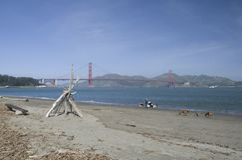 Golden gate bridge and Fort Point, San Francisco, California, USA Royalty Free Stock Photos