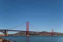 Golden gate bridge-Fortpunt Royalty-vrije Stock Foto's