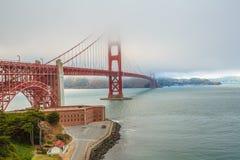 Golden Gate Bridge fortu punkt Obraz Stock