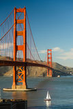 Golden Gate Bridge fortu punktu San Fransisco zatoka Kalifornia Obrazy Stock