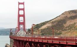 Golden gate bridge gesehen vom Norden, San Francisco lizenzfreie stockfotografie