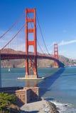 Golden gate bridge i den San Fracisco staden Fotografering för Bildbyråer