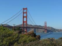 Golden gate bridge i San Francisco Royaltyfria Foton