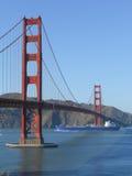 Golden gate bridge i San Francisco Arkivfoton