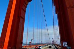 Golden gate bridge i San Francisco - CA Arkivfoto