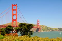 Golden Gate Bridge II Royalty Free Stock Photo