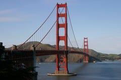 Golden Gate Bridge II. A horizontal composition of the Golden Gate Bridge, as viewed from the Presidio Stock Photo