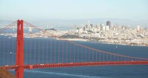 Golden gate bridge, ikonenhaftes San Francisco Cityscape Scenic stock footage