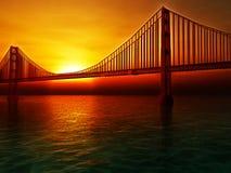 Golden gate bridge-Illustration Stockfoto