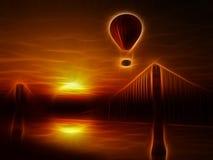 Golden Gate Bridge ilustracja Fotografia Stock