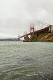 Golden gate bridge im Nebel, San Francisco Lizenzfreie Stockfotos
