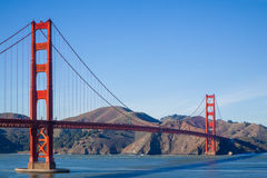 Golden Gate Bridge klasyka fotografia Fotografia Royalty Free