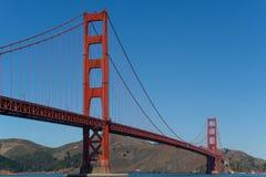 Golden Gate Bridge końcówka końcówka Zdjęcie Stock