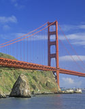 The Golden Gate Bridge from Marin Gateway Park, San Francisco, California Royalty Free Stock Image
