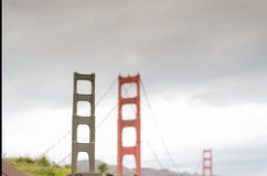 Golden Gate bridge miniature Royalty Free Stock Images