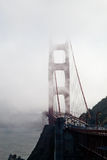Golden Gate Bridge in the mist Royalty Free Stock Image