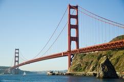 Golden Gate Bridge in the morning Stock Images