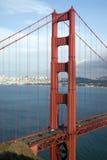 Golden Gate Bridge near sundown Royalty Free Stock Images