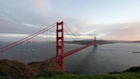 Golden Gate Bridge stock video