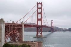 Golden Gate Bridge od Mile widziany centrum, San Fransisco, Kalifornia, usa Fotografia Royalty Free