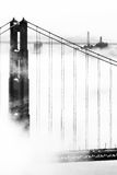 Golden Gate Bridge. Bridge over the Pacific ocean, Golden Gate Bridge, San Francisco Bay, San Francisco, California, USA stock photo