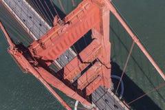 Golden Gate Bridge Over San Francisco Bay Stock Photos