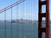 Golden Gate Bridge overlook at San Francisco - USA royalty free stock photography