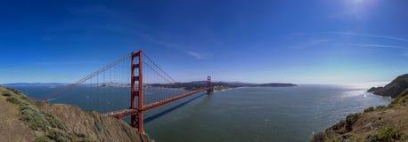 Golden gate bridge-Panorama Lizenzfreie Stockfotos