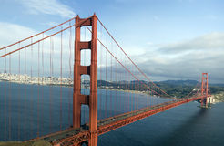 Golden Gate Bridge Panorama Royalty Free Stock Images