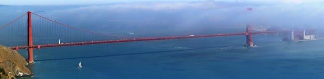 Golden Gate Bridge panorama Royalty Free Stock Photo