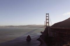Golden Gate Bridge. Panoramic view of the Golden Gate Bridge Royalty Free Stock Photography