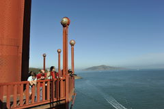 Golden Gate Bridge, Panoramic View Stock Photography