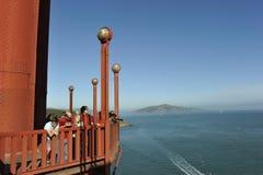 Golden Gate Bridge, Panoramic View Stock Photography