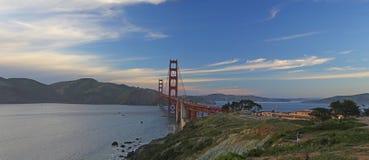 Golden Gate Bridge panoramic view Royalty Free Stock Image