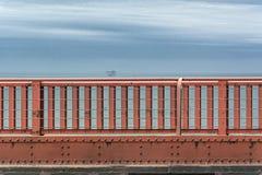 Golden Gate Bridge parapet Stock Photo
