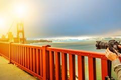Golden Gate Bridge photography Stock Photos
