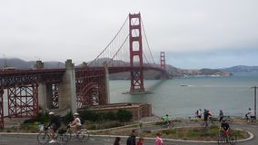 Golden Gate Bridge. Picture of the golden gate bridge Royalty Free Stock Photo