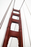 Golden Gate Bridge. This is a picture of the Golden Gate Bridge on a semi-foggy evening Stock Photography