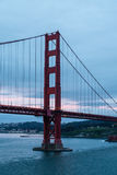 Golden Gate Bridge Predawn Royalty Free Stock Image