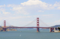 Golden gate bridge from the Presidio Stock Photos