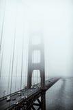 Golden gate bridge preto e branco, San Francisco fotografia de stock