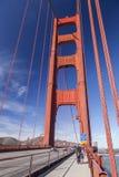 Golden Gate Bridge in San Fracisco City Stock Photos