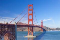 Golden Gate Bridge in San Fracisco City Royalty Free Stock Photography