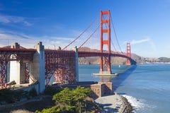 Golden Gate Bridge in San Fracisco City Stock Photography