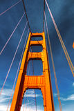 Golden Gate Bridge in San Fracisco City Royalty Free Stock Photography