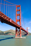 Golden Gate Bridge, San Franci. Sco on a nice clear day Royalty Free Stock Photos