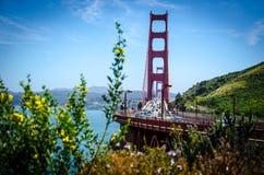 Golden Gate Bridge, San Francisco royalty free stock photography