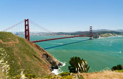 Golden Gate Bridge - San Francisco Royalty Free Stock Photos