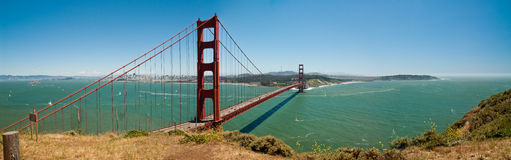 Golden Gate Bridge - San Francisco Royalty Free Stock Photography