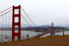 Golden gate bridge in san francisco Royalty Free Stock Photography